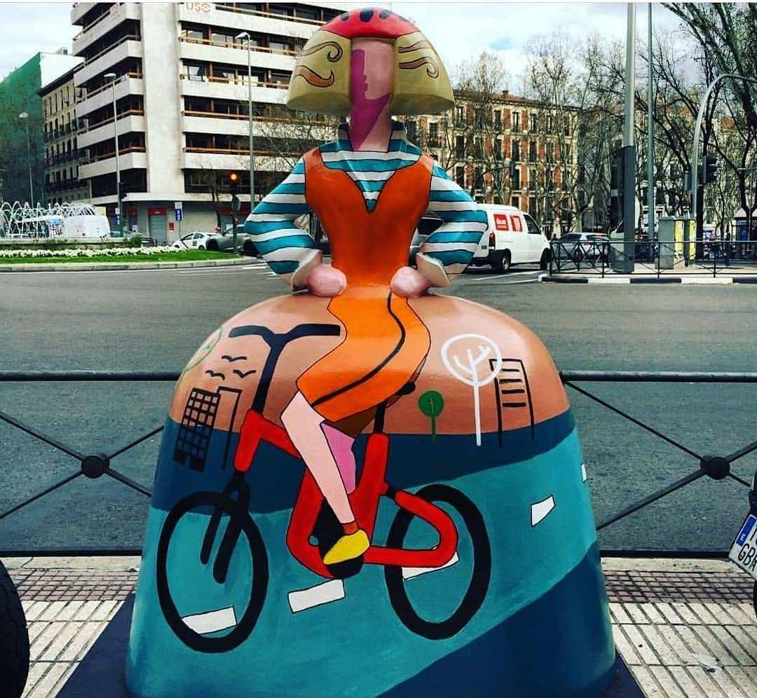"""Менины"" Веласкеса на улицах Мадрида"