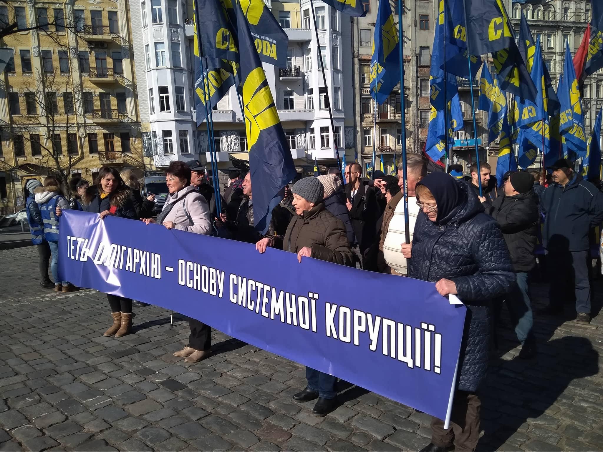 марш націоналістичних сил