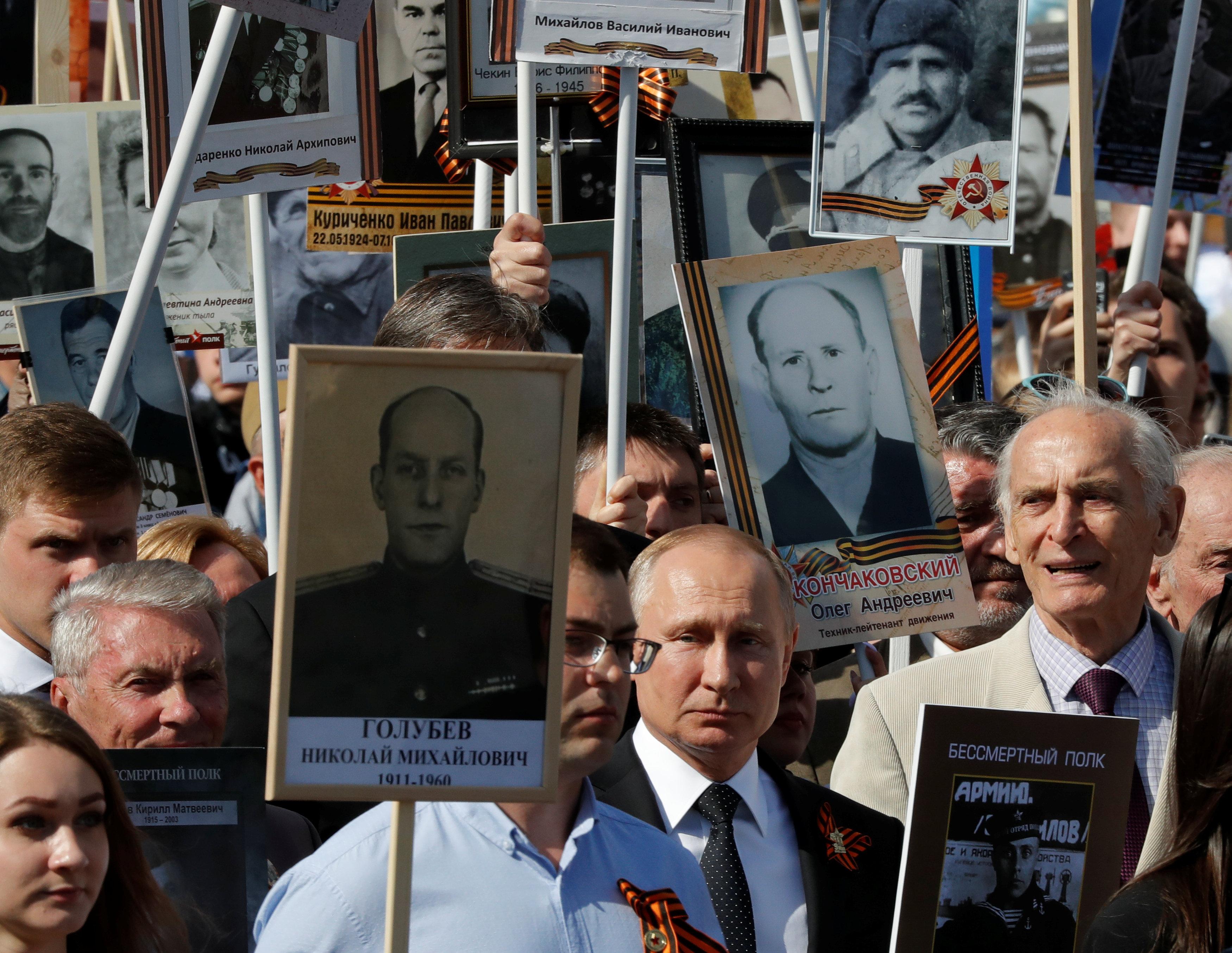 Путін на Параді Перемоги