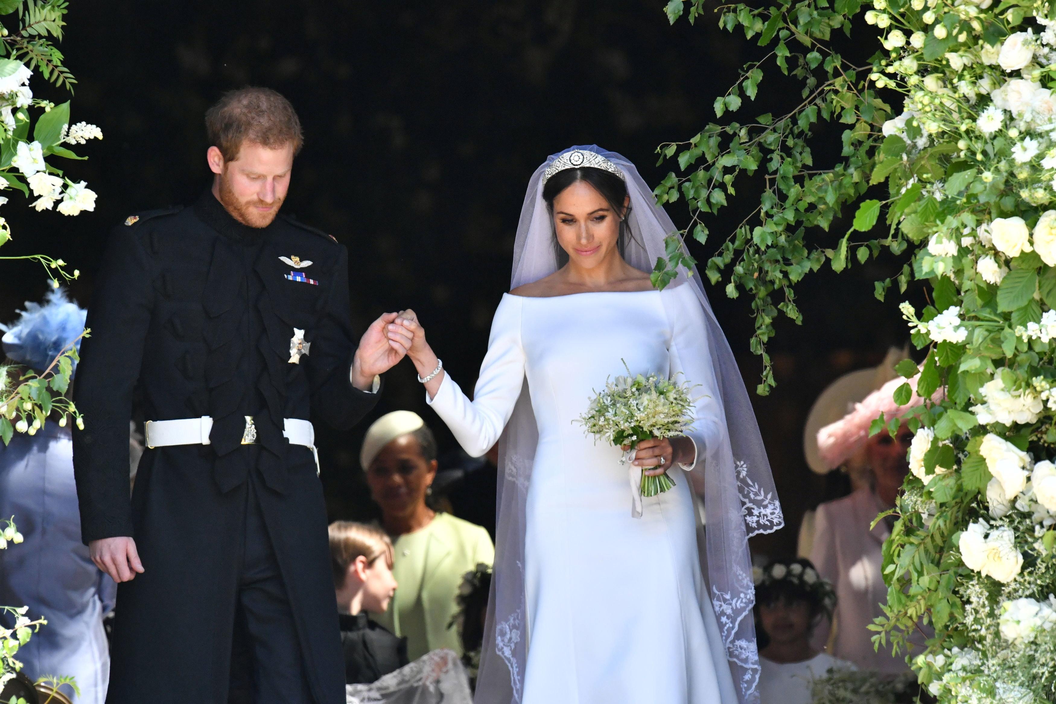 Принц Гаррі та акторка Меган Маркл одружилися