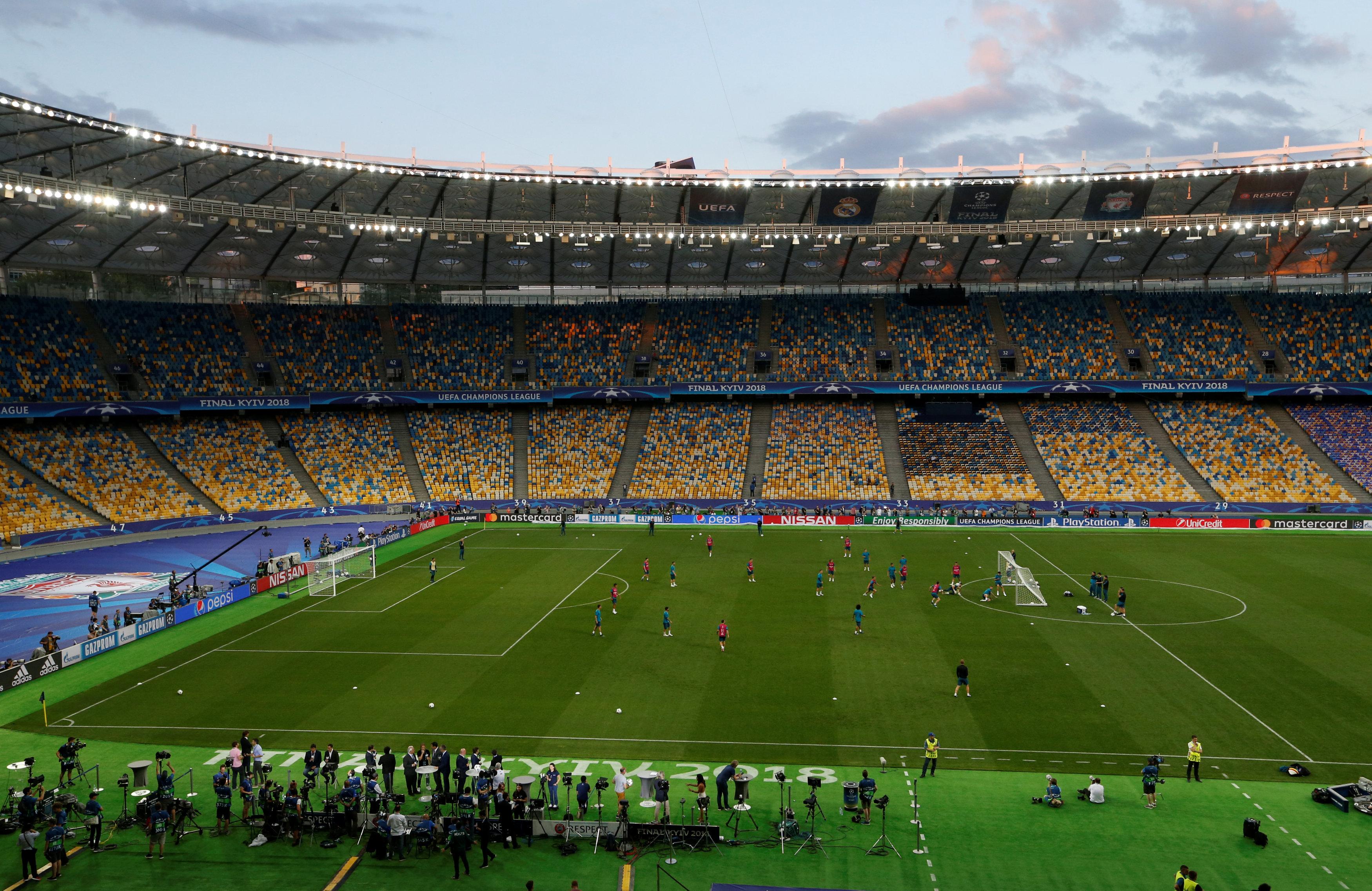 Свято футболу. Сьогодні в Києві - грандіозний фінал Ліги Чемпіонів УЄФА