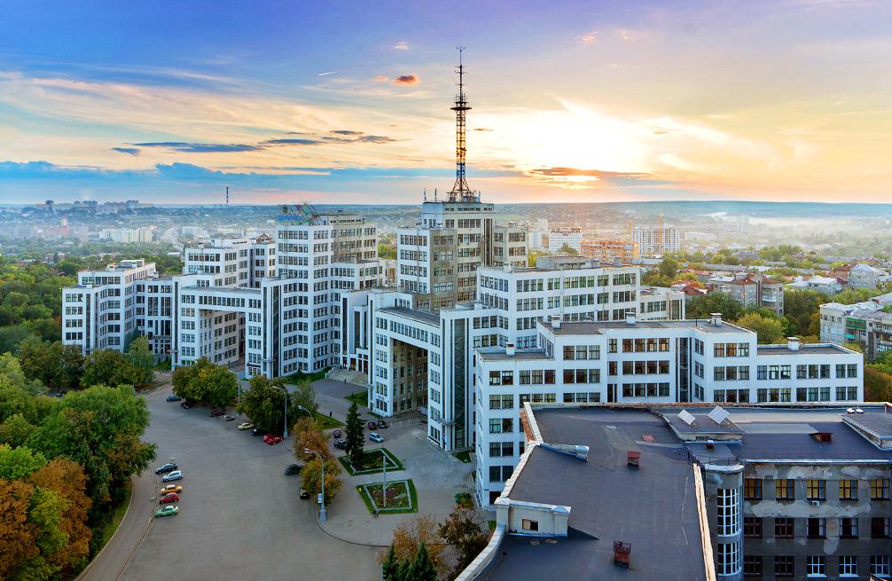Первый небоскреб в Советском Союзе