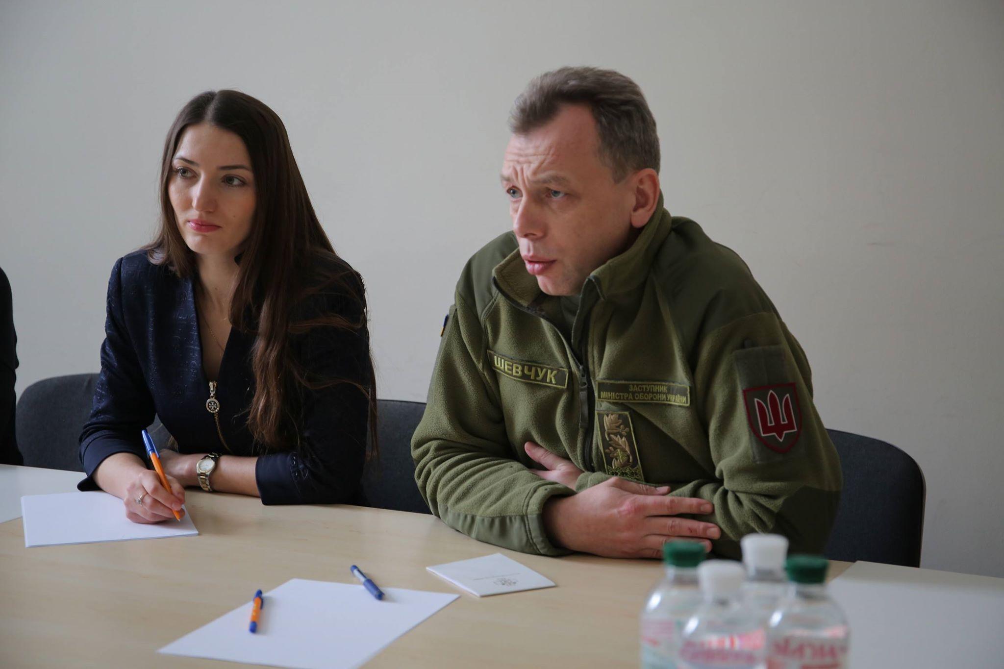 Заступник міністра оборони генерал-майор Олег Шевчук