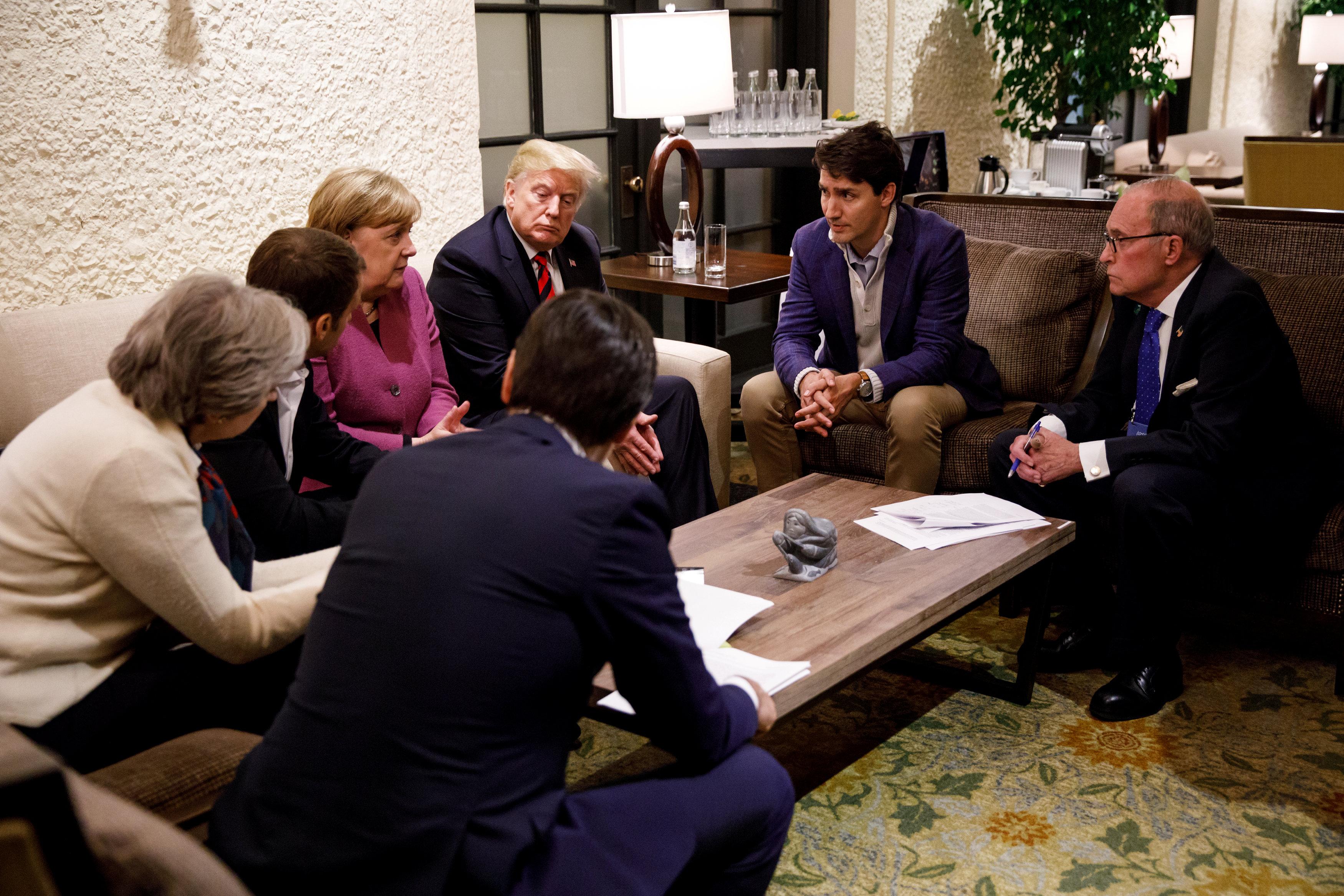 """Лідери країн """"Великої сімки"""""""
