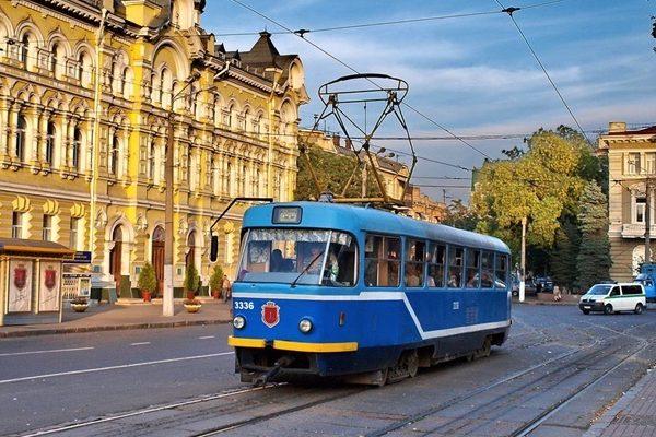 Одесса трамвай