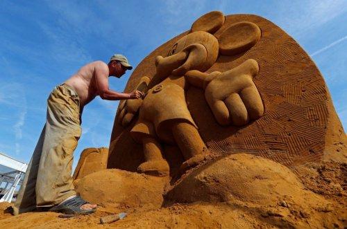 Фестиваль піску Остенд