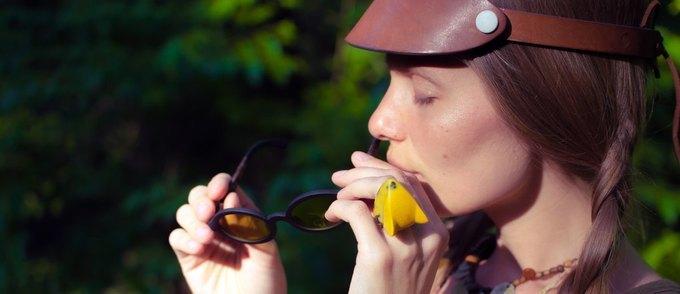 органічні окуляри з кави та льону