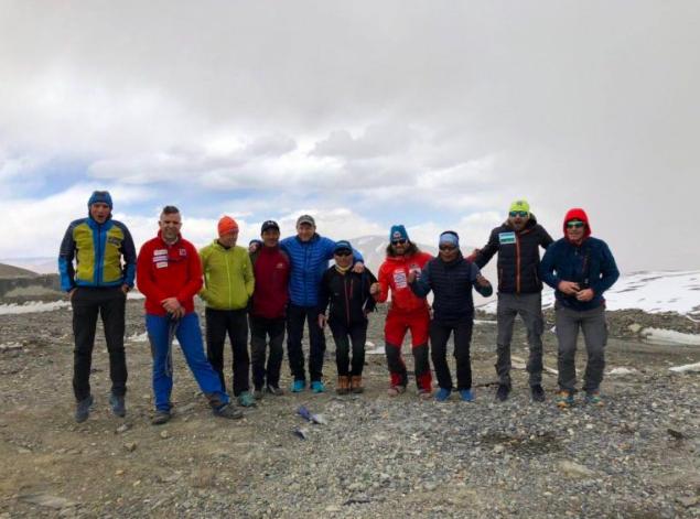 Фото Олександра Настенко / Інтернаціональна експедиція на гору Шиша-Пангма