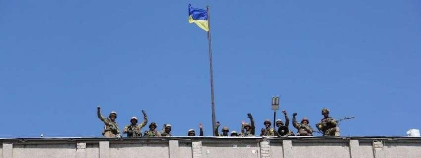 освобождение Славянска