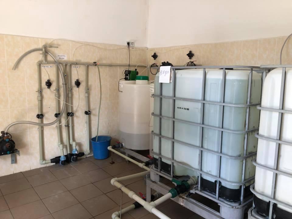 Знезараження води гіпохлоритом