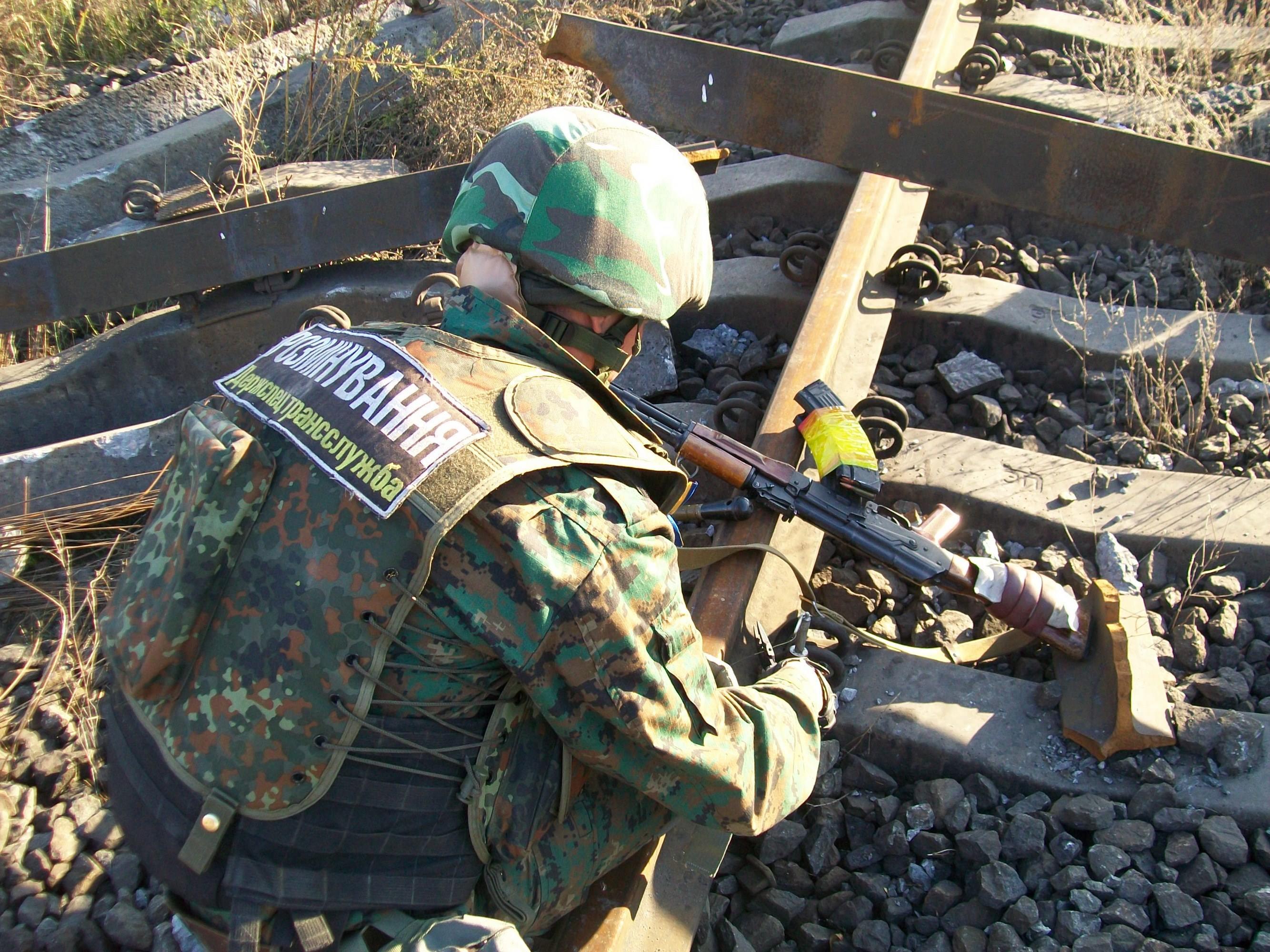 Будні спецслужби транспорту на Донбасі