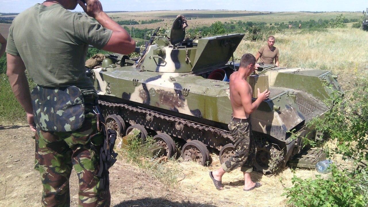 Десантники 25-ї бригади, Донбас, літо 2014