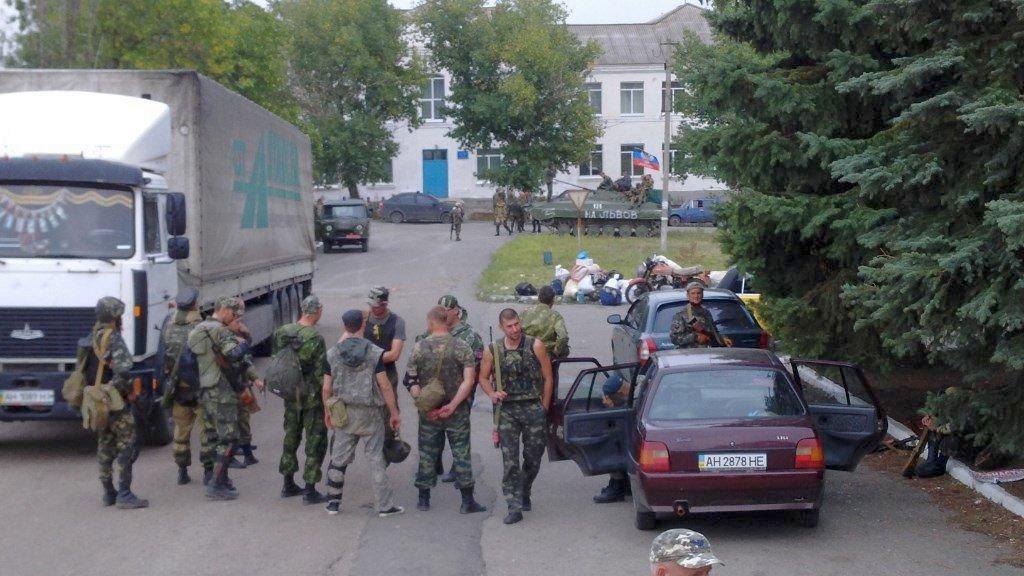 Бойовики, які вийшли зі Слов'янська