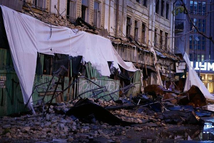 Наслідки негоди в Києві