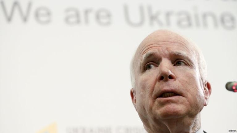 маккейн в україні