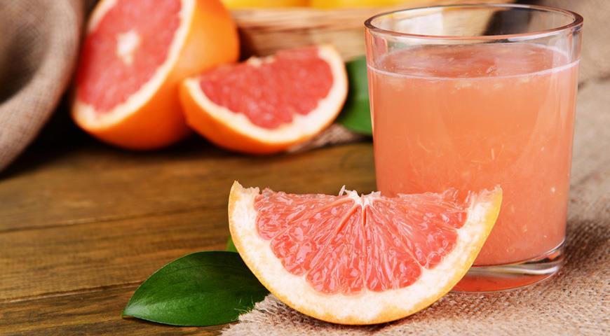 грейпфрутовий сок вреден