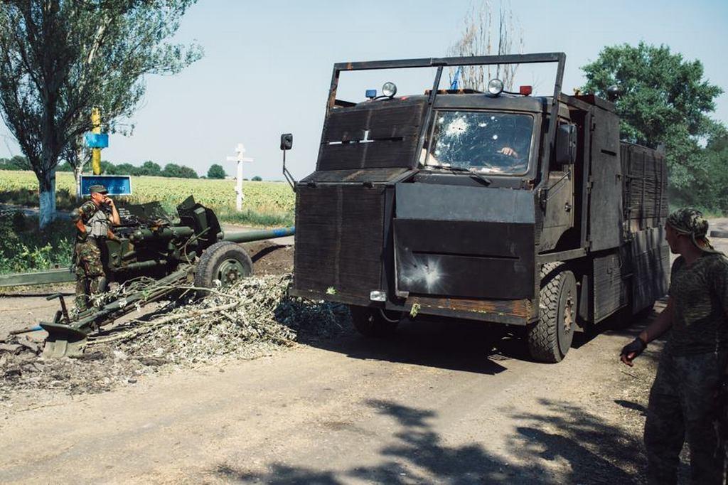 Азовський «Пряник» зі слідами бойових пошкоджень