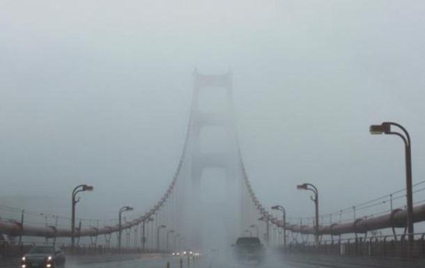 туман мост