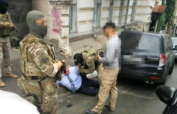 Затримання керівника департаменту поліції охорони Сергія Будника