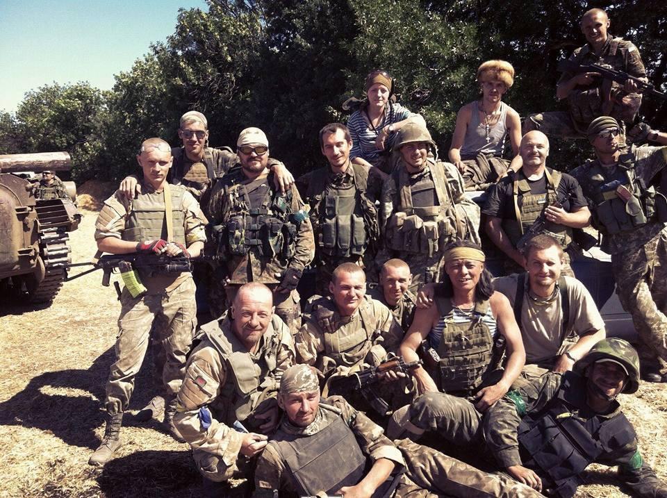 Бійці батальйону «Айдар», літо 2014 р.
