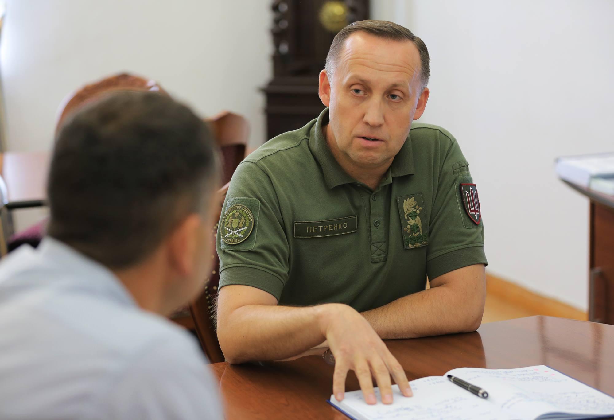 заступник Міністра оборони України з питань європейської інтеграції генерал-лейтенант Анатолій Петренко