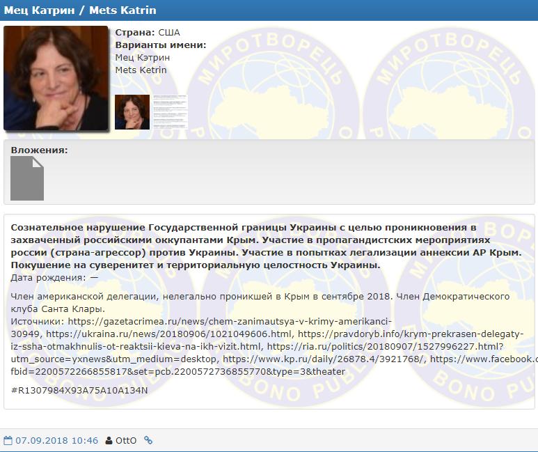 Делегація США в Криму