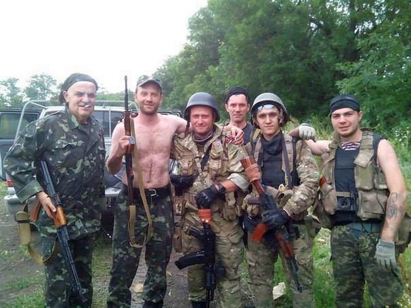 """Бійці батальйону """"Дніпро-1"""", літо 2014 р."""