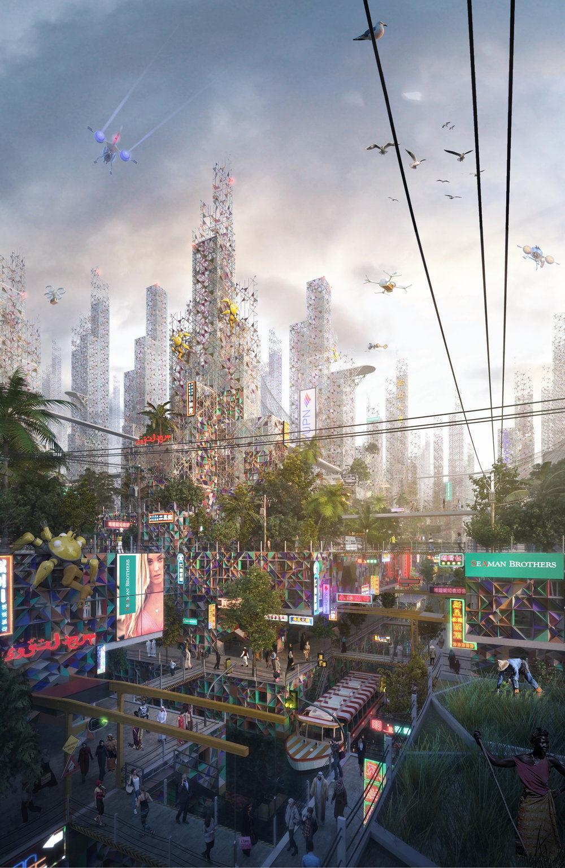еко-місто зі сміття