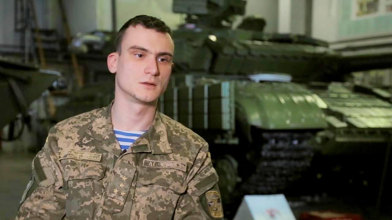 Старший лейтенант Володимир Вишневський