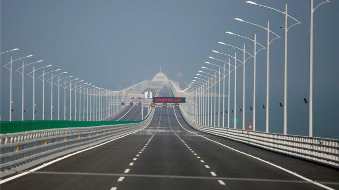 Міст Гонконг - Чжухай - Макао