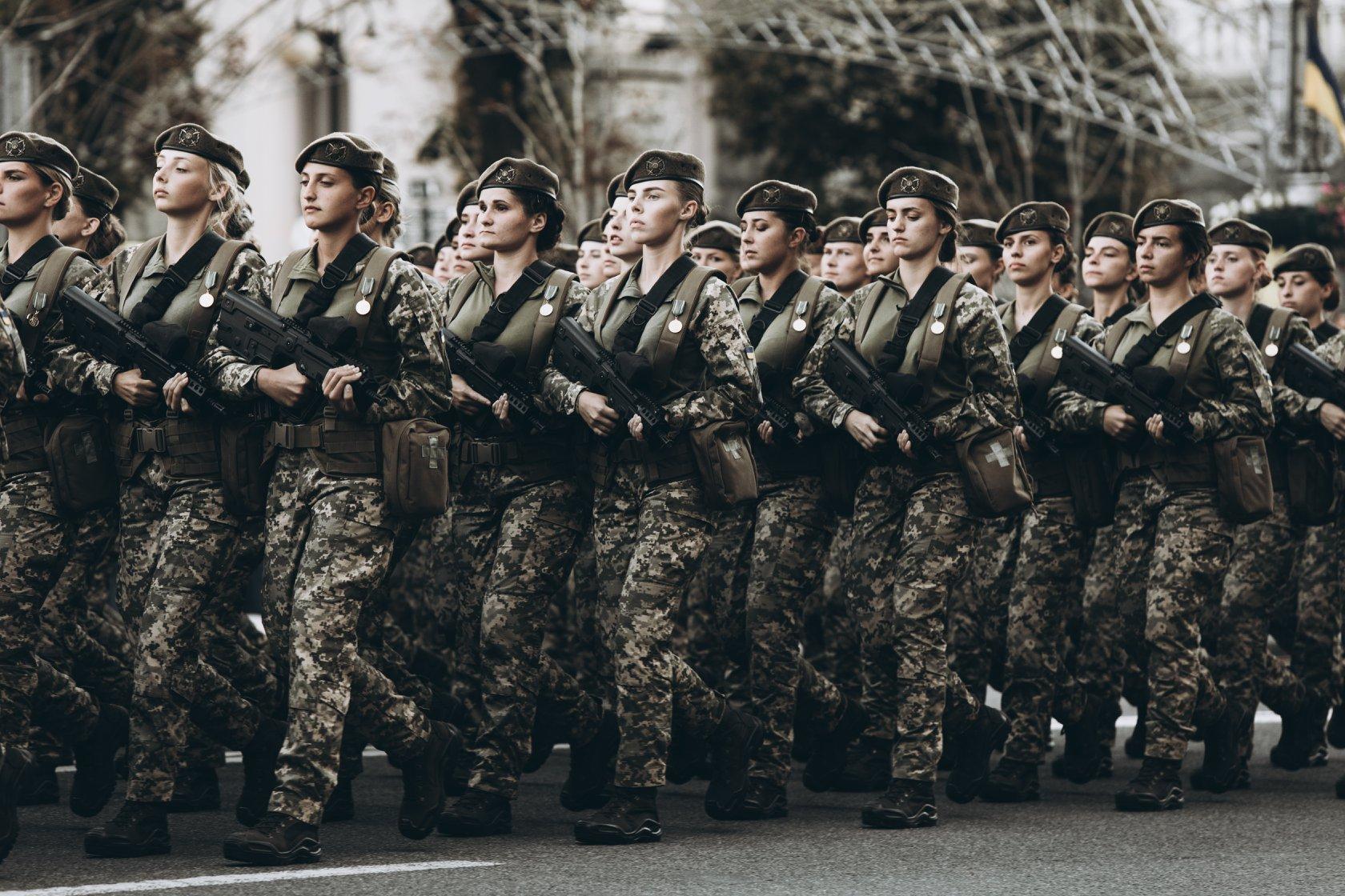 Кожний 10 військовослужбовець ЗСУ – жінка