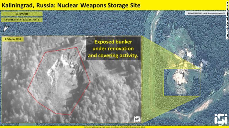 Ядерні бункери РФ