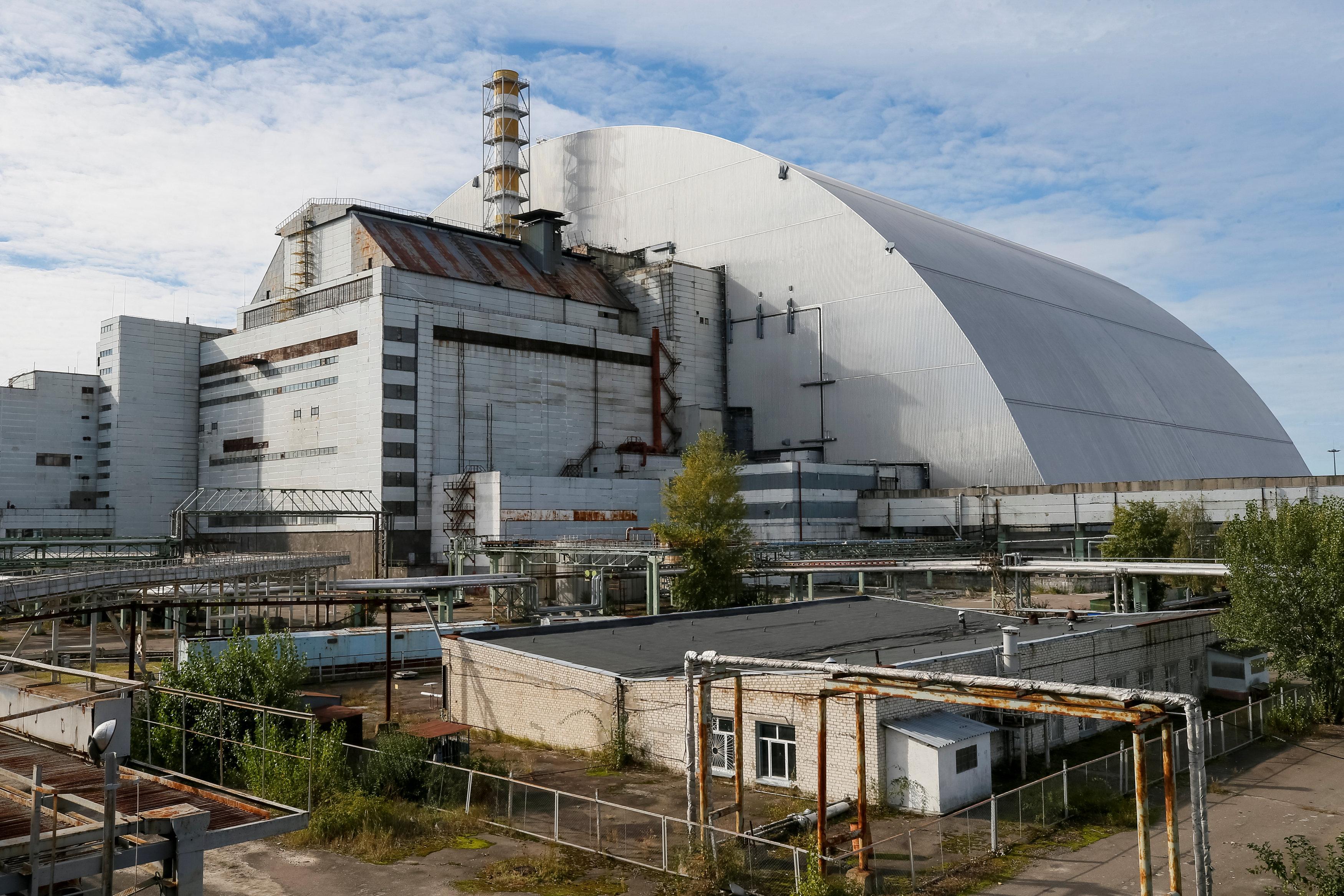 саркофаг для чернобыльской аэс фото можете