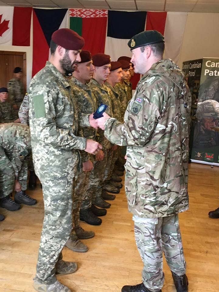 Українські десантники у Британії