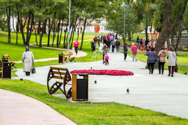Троєщина новий парк