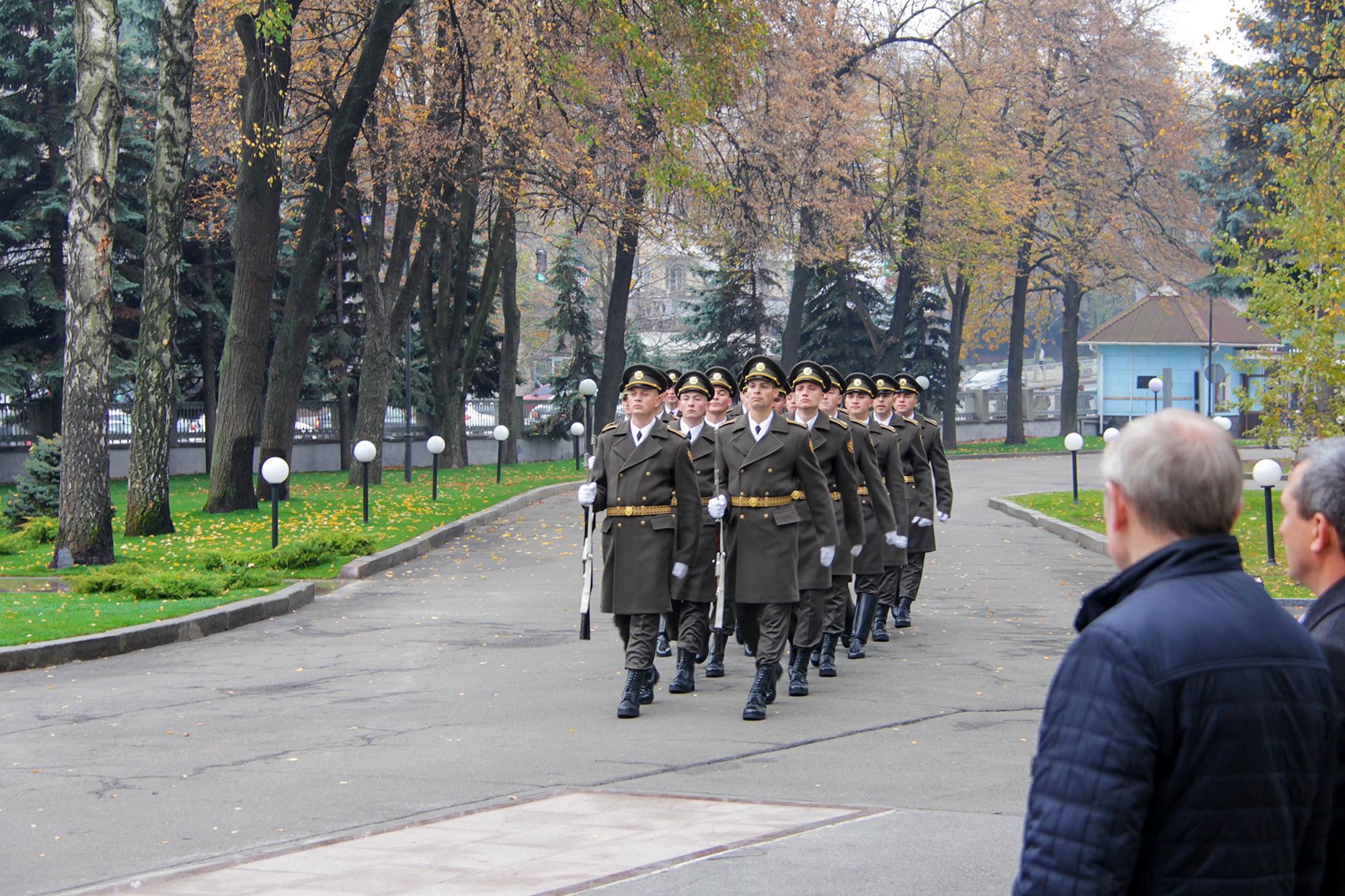 вшанували пам'ять військових