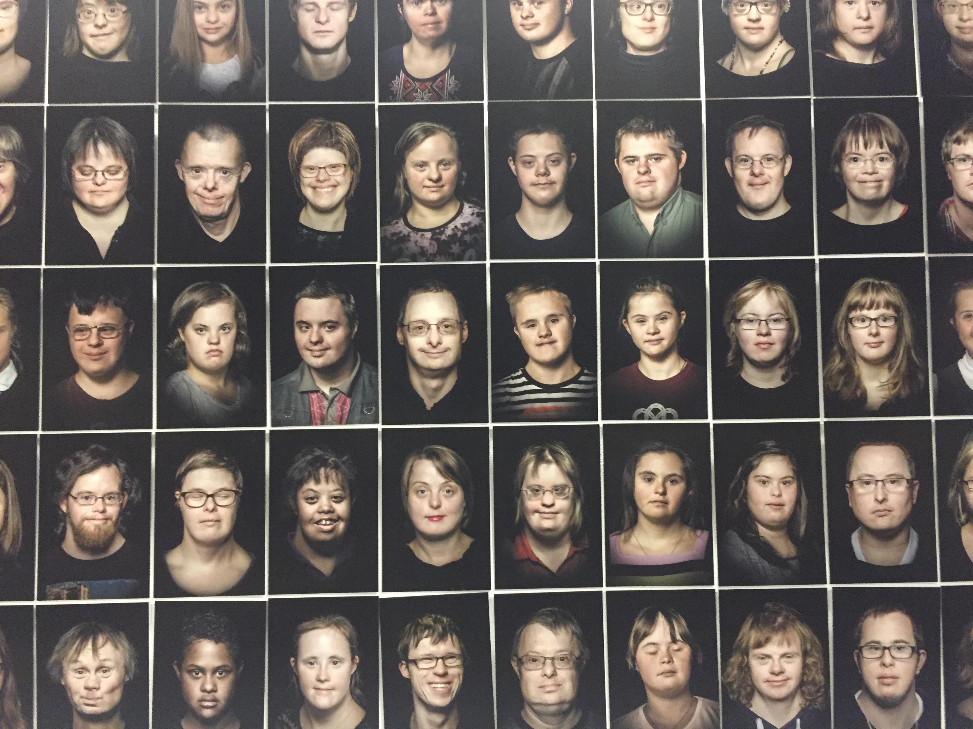 Бріт Шилінг. Портрети людей із синдромом Дауна, 2014-2018