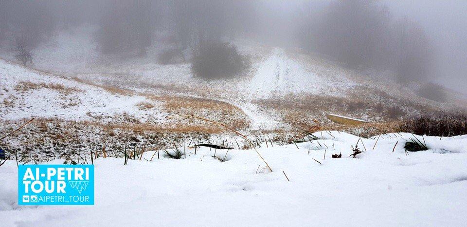 У Криму випав перший сніг
