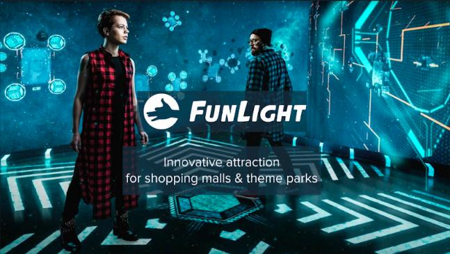 FunLight — атракціон світлових проекцій