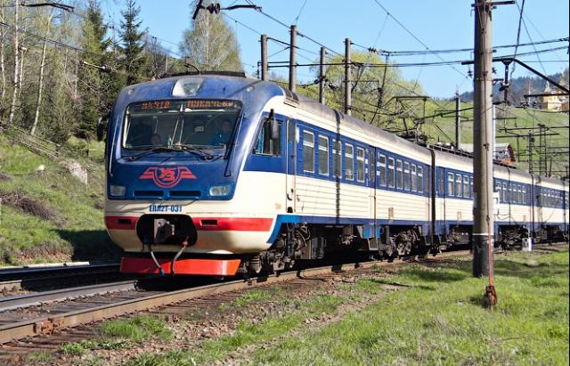Потяг Ужгород-Лисичанськ