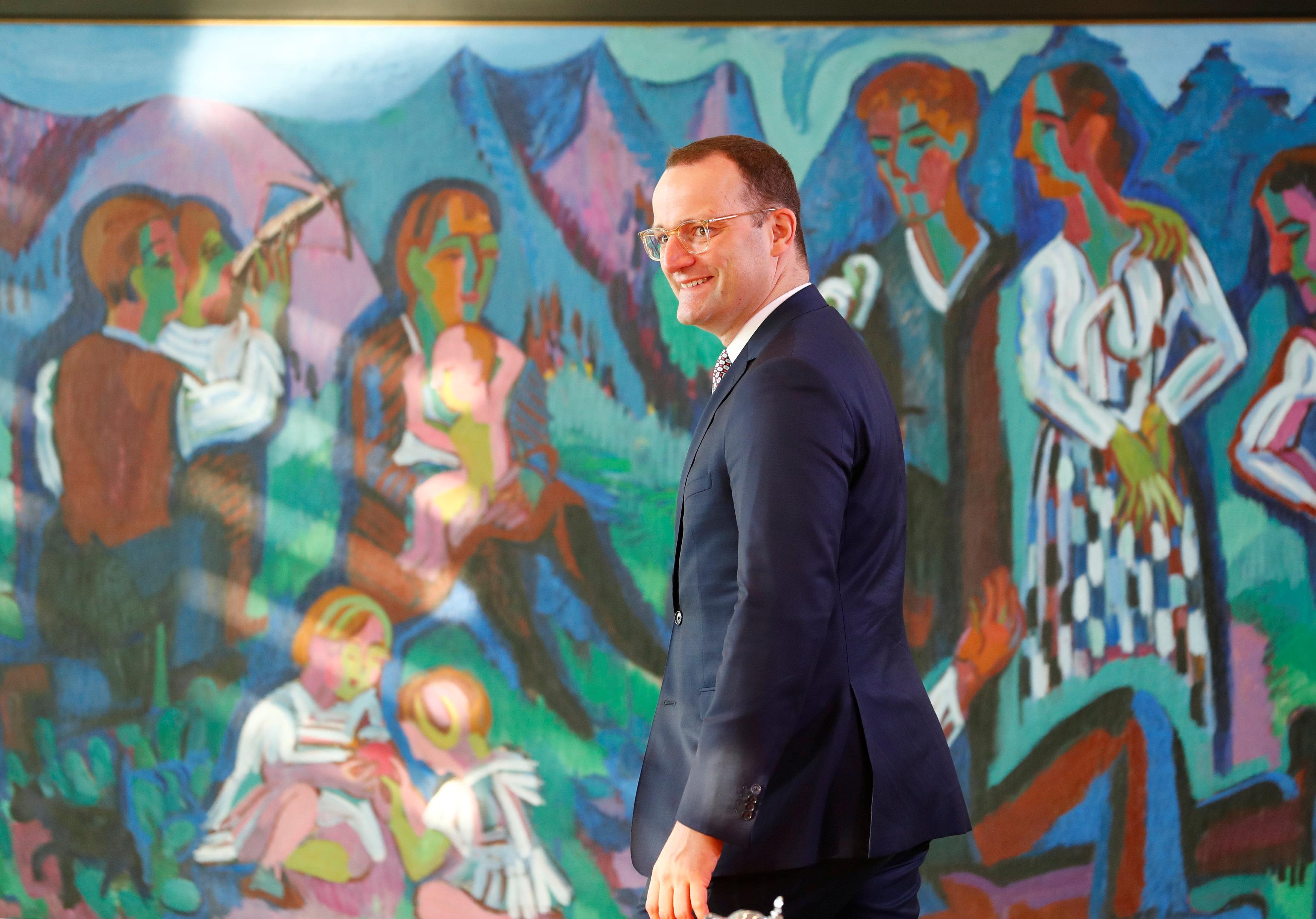 Йенс Шпан – 38-річний міністр охорони здоров'я в уряді в уряді Меркель