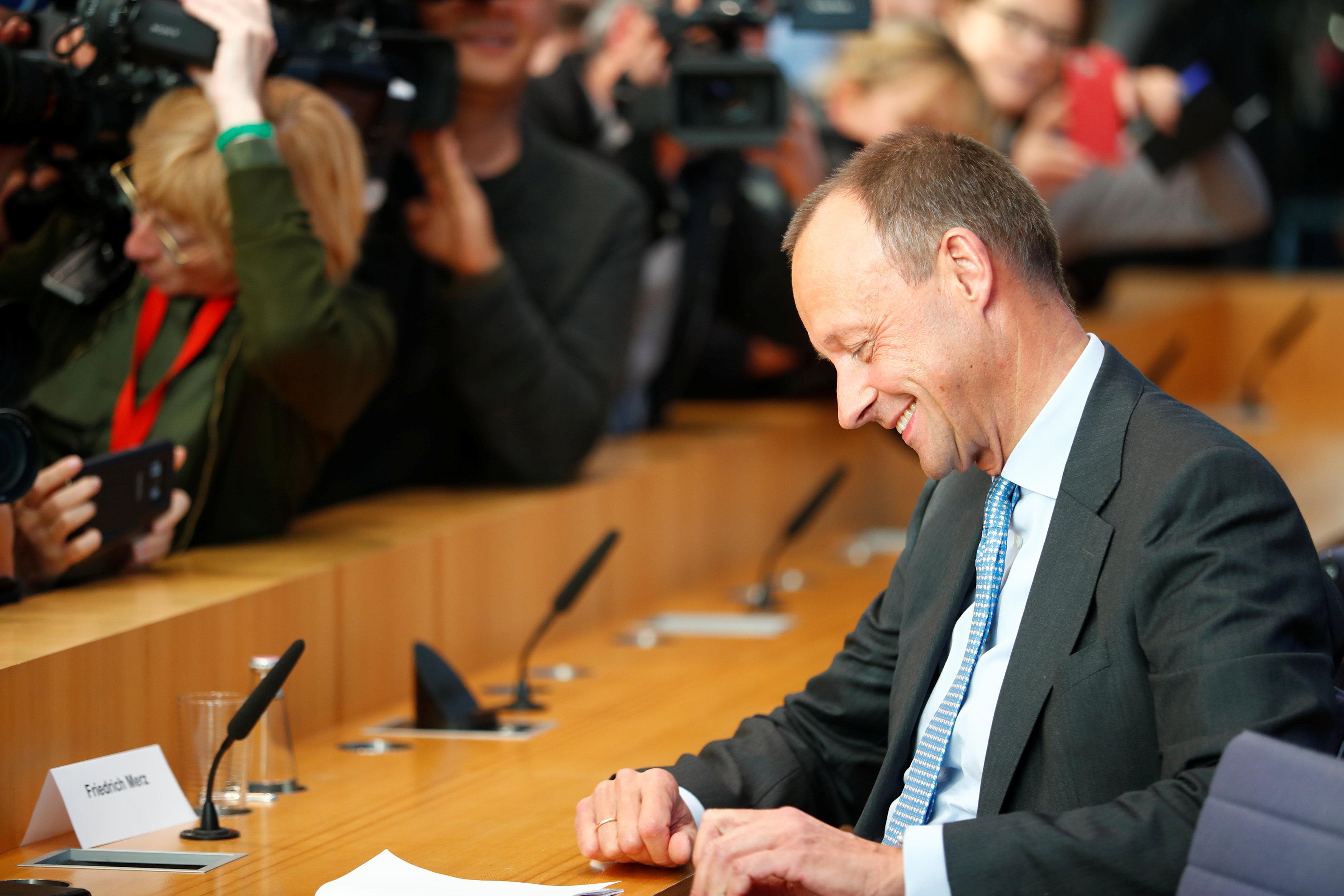 Фрідріх Мерц – колишній лідер фракції консерваторів у бундестазі, а нині практикуючий адвокат