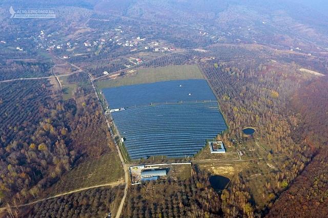 СЕС, розташована на 35 га, стане найбільшою у Західній Україні.