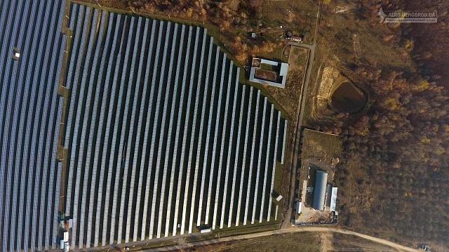 Сонячна електростанція потужністю 21,5 МВт будується у селі Тийглаш(Закарпатська область).