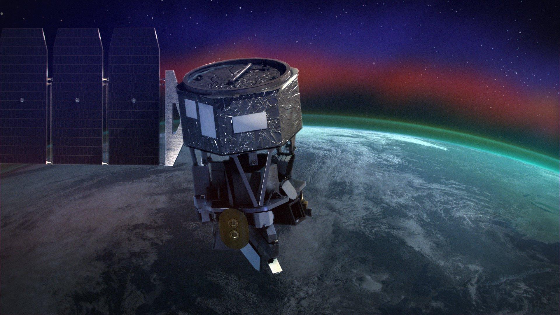 рідкісне світіння атмосфери Землі