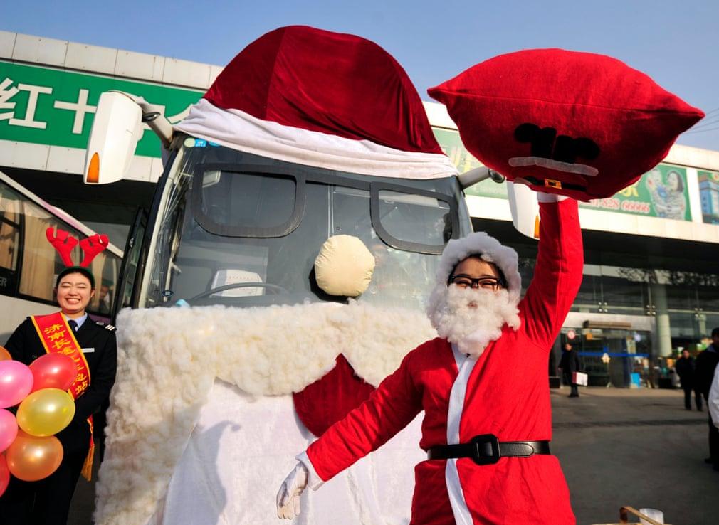 Новорічний святковий транспорт