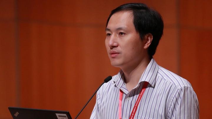 Китайський генетик Хе Цзянкуя (He Jiankui)