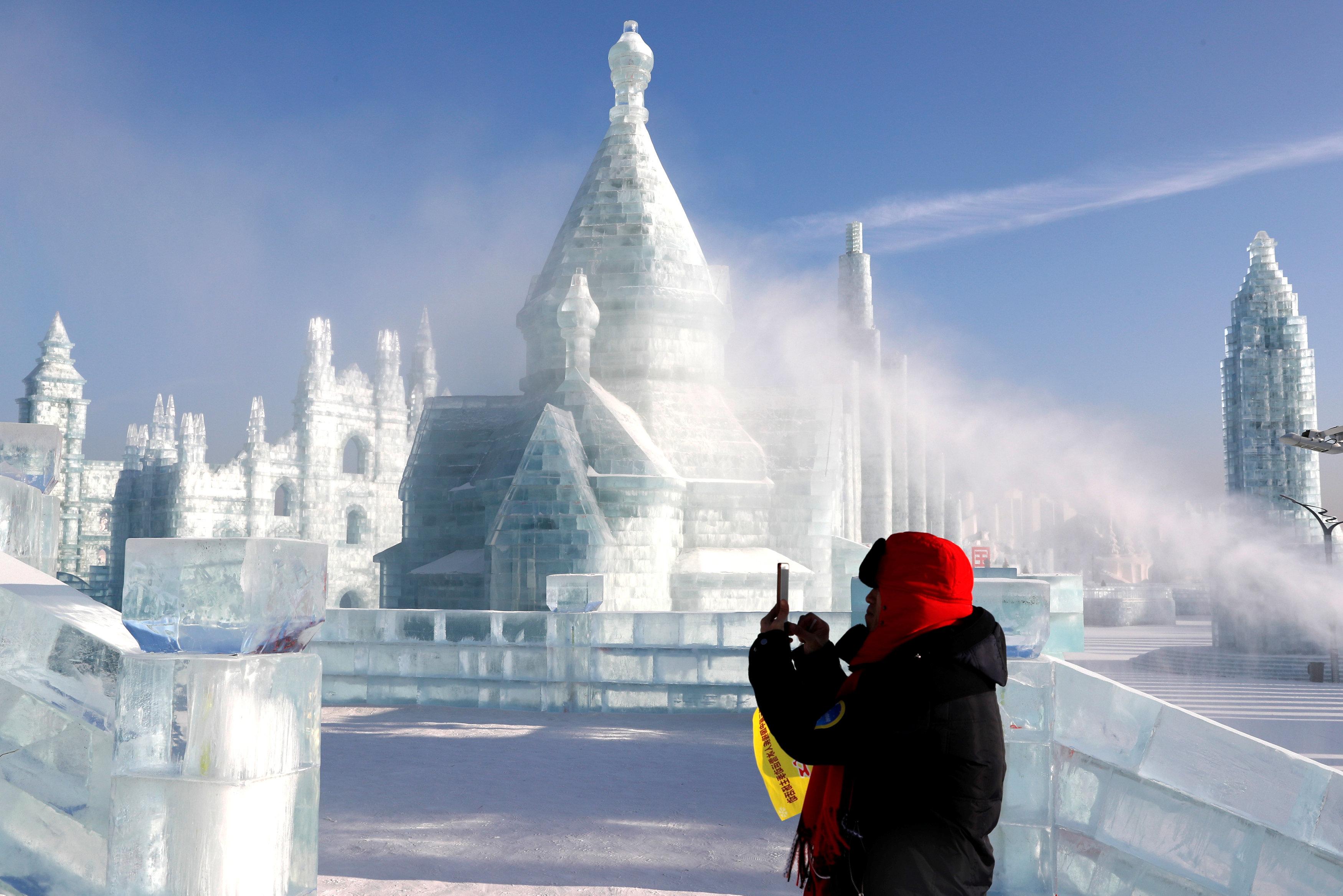 харбин ледяной город 2019
