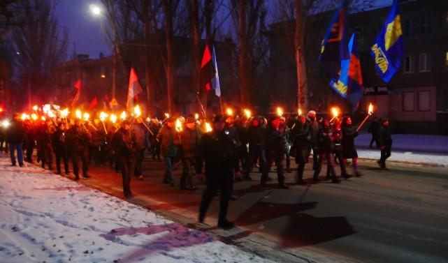 смолоскипна хода Слов'янськ
