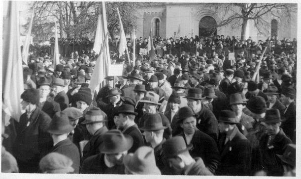 Святкування Дня Соборності у місті Хуст у 1939 році
